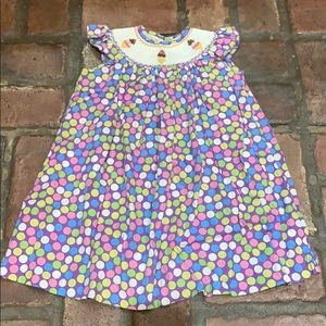 Other - Adorable Smocked Ice Cream Cone Dress 2T